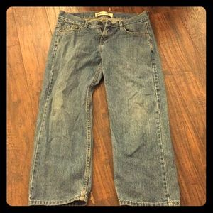 Levi's 550 relaxed jeans boys 8 husky